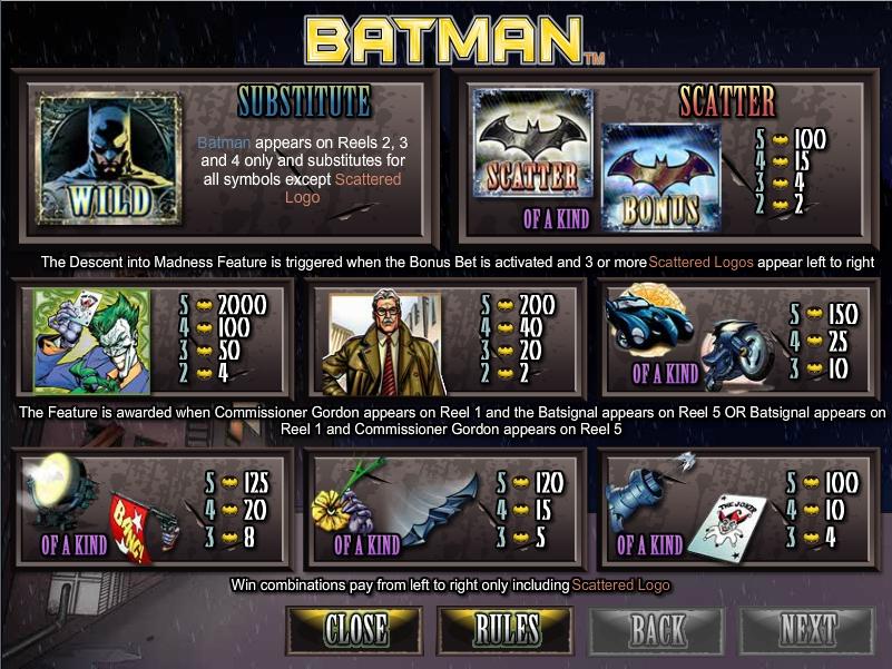 Batman-พนัน