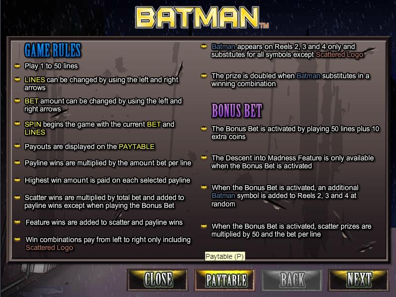 Batman-เกม
